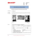 Sharp AR-M160 (serv.man76) Technical Bulletin