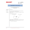 Sharp AR-M160 (serv.man78) Technical Bulletin