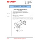 Sharp AR-M160 (serv.man81) Technical Bulletin