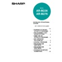 Sharp AR-M236 (serv.man11) User Guide / Operation Manual