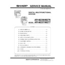 Sharp AR-M236 (serv.man5) Service Manual