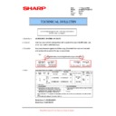 Sharp AR-M236 (serv.man63) Technical Bulletin