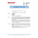 Sharp AR-M236 (serv.man65) Technical Bulletin