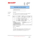 Sharp AR-M236 (serv.man72) Technical Bulletin
