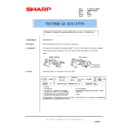 Sharp AR-M236 (serv.man74) Technical Bulletin
