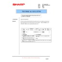 Sharp AR-M236 (serv.man76) Technical Bulletin