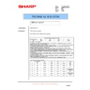 Sharp AR-M236 (serv.man77) Technical Bulletin