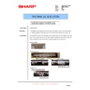 Sharp AR-M236 (serv.man80) Technical Bulletin