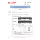Sharp AR-M236 (serv.man82) Technical Bulletin