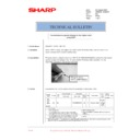 Sharp AR-M236 (serv.man83) Technical Bulletin
