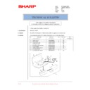 Sharp AR-M236 (serv.man84) Technical Bulletin