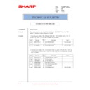 Sharp AR-M236 (serv.man85) Technical Bulletin