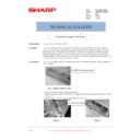 Sharp AR-M236 (serv.man87) Technical Bulletin