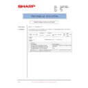 Sharp AR-M236 (serv.man88) Technical Bulletin