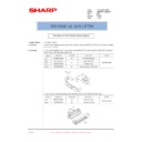 Sharp AR-M236 (serv.man90) Technical Bulletin