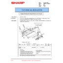 Sharp AR-M236 (serv.man91) Technical Bulletin