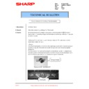 Sharp AR-M236 (serv.man93) Technical Bulletin