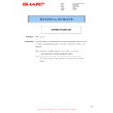 Sharp AR-M316 (serv.man35) Technical Bulletin