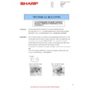 Sharp AR-M316 (serv.man38) Technical Bulletin