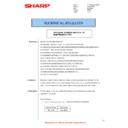Sharp AR-M316 (serv.man48) Technical Bulletin