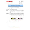Sharp AR-M316 (serv.man55) Technical Bulletin
