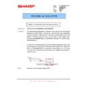 Sharp AR-M316 (serv.man62) Technical Bulletin