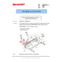 Sharp AR-M316 (serv.man64) Technical Bulletin