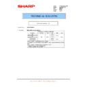 Sharp AR-M316 (serv.man65) Technical Bulletin