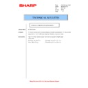 Sharp AR-M316 (serv.man66) Technical Bulletin