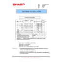 Sharp AR-M316 (serv.man67) Technical Bulletin