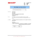 Sharp AR-M316 (serv.man70) Technical Bulletin