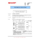 Sharp AR-M316 (serv.man71) Technical Bulletin