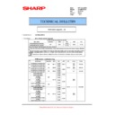 Sharp AR-M316 (serv.man72) Technical Bulletin
