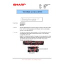 Sharp AR-M316 (serv.man73) Technical Bulletin