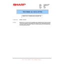 Sharp AR-M316 (serv.man77) Technical Bulletin