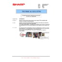 Sharp AR-M316 (serv.man79) Technical Bulletin