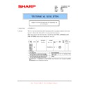 Sharp AR-M316 (serv.man83) Technical Bulletin