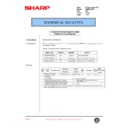 Sharp AR-M35, AR-M450 (serv.man101) Technical Bulletin