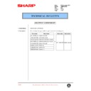 Sharp AR-M35, AR-M450 (serv.man102) Technical Bulletin