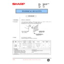 Sharp AR-M35, AR-M450 (serv.man103) Technical Bulletin