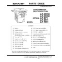 Sharp AR-M35, AR-M450 (serv.man14) Parts Guide