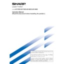 Sharp AR-M35, AR-M450 (serv.man33) User Guide / Operation Manual