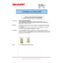 Sharp AR-M35, AR-M450 (serv.man56) Technical Bulletin