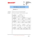 Sharp AR-M35, AR-M450 (serv.man58) Technical Bulletin