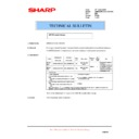 Sharp AR-M35, AR-M450 (serv.man59) Technical Bulletin