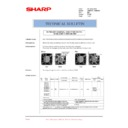 Sharp AR-M35, AR-M450 (serv.man63) Technical Bulletin