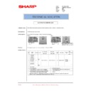 Sharp AR-M35, AR-M450 (serv.man64) Technical Bulletin