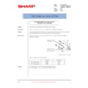 Sharp AR-M35, AR-M450 (serv.man65) Technical Bulletin