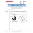 Sharp AR-M35, AR-M450 (serv.man66) Technical Bulletin
