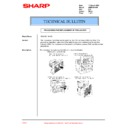 Sharp AR-M35, AR-M450 (serv.man67) Technical Bulletin